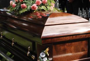 Przygotowania do ceremonii pogrzebu