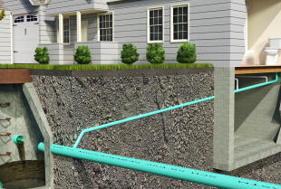 Prace nad kanalizacją