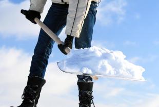 Prace na wysokościach związane z odśnieżaniem