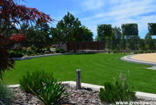 Ogród jako część reprezentacyjna domu