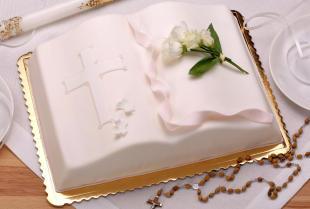 Wyjątkowy tort na Pierwsza Komunię Świętą