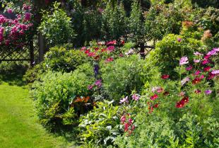Ogrody w różnym stylu