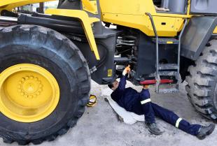 Serwis orbitroli hydraulicznych w maszynach budowlanych
