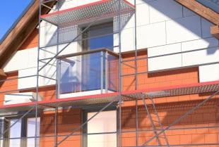 Na czym polega docieplanie budynku metodą ETICS?