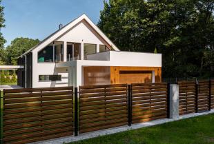 Malowanie elewacji domu jednorodzinnego