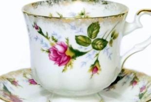 Porcelanowe filiżanki – które do kawy, a które do herbaty?
