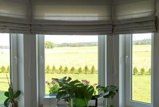 Materiałowe osłony okienne wykonywane na zamówienie