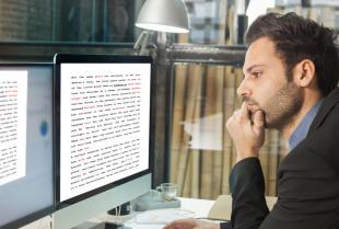 Szybka korekta tekstów napisanych w obcych językach