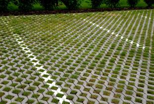 W zgodzie z naturą – ogród wykończony płytami ażurowymi